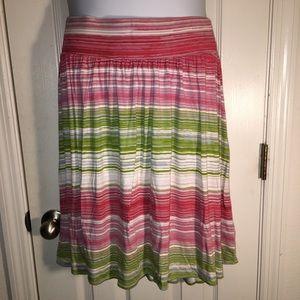 Lane Bryant striped Skirt Size 18/20